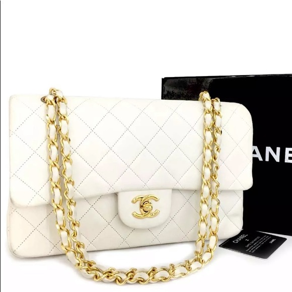 221be5639 CHANEL Bags | Flashsale Double Flap Lambskin Bag | Poshmark